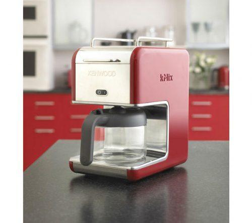 Kenwood Cm021 Kmix Coffee Maker Raspberry Red : KENWOOD kMix CM021 Filter Coffee Maker